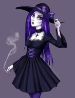 If I only were a goth by Hollilicious