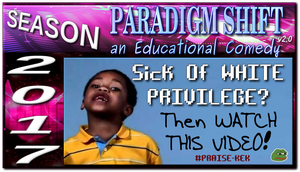 PSEC 2017 Sick Of WHITE PRIVILEGE by paradigm-shifting