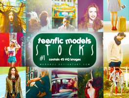 Teenfic Models Stocks #1 by meroro2