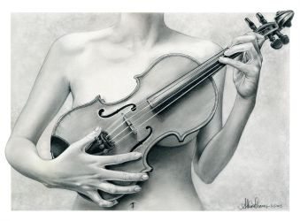 Violin by AthenaTT