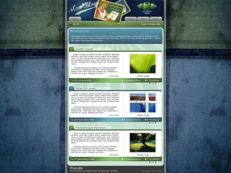 Old Style Blog by Forum-Toshop