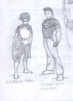 Robin and Superboy by tta269