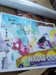 nicole oliver autograph by brandonthebeast34