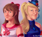 Tippi Twins commission by The-Tabbycat-Witch
