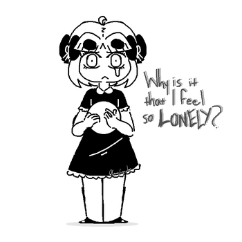 Lonely... by GwenCupcakes