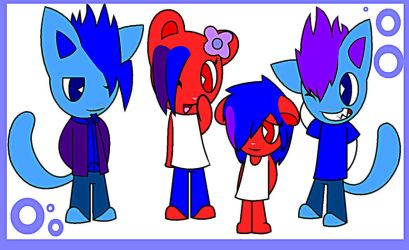 Seventh RQ: The Family Of Scratchy. by NyanCatLover2011