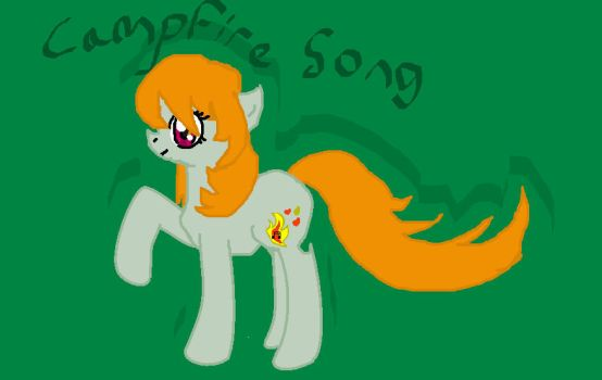My Little Pony OC- Campfire Song by organizationsandwich