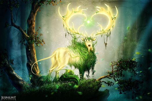 Commission: Forest Lord by jocarra