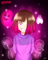 [Glitchtale] I'll turn them all to DUST. (2/2) by MCMania332