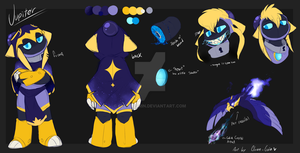 Jupiter the Bomberman reference sheet by Clown-Grin