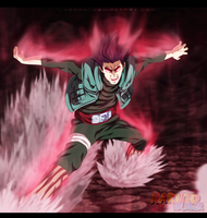 Gate of Death - Naruto 668 by DEOHVI