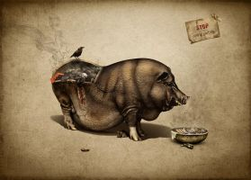 Stop eating Garbage by serso