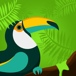 Toucan by stupid-owl