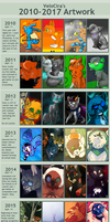 2010 - 2017 Art Meme by Velocira