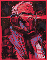 Soldier76 RED by ChrisVisions