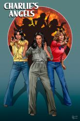 Charlies Angels by hamletroman