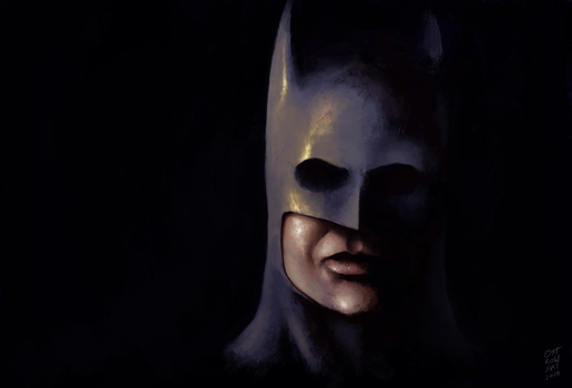 I'm Batman by OZtheW1ZARD