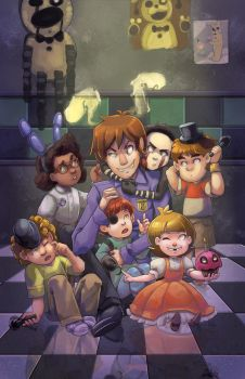 Five Nights at Freddy's by oneoftwo