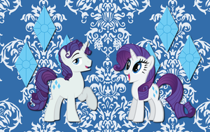 Elusive and Rarity WP by AliceHumanSacrifice0