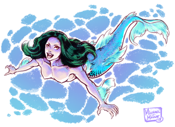 First of Mermay by MichaelMayne