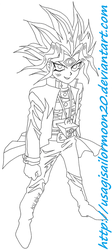 Yami Yugi from Season 0 by usagisailormoon20