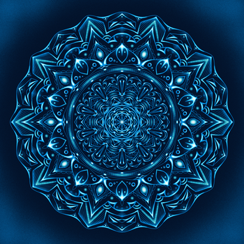 Mandala Night Glow by Lexa-Wagner