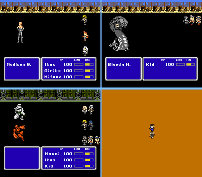 SOUL EATER NES RPG FANGAME IS COMPLETE by ASoulOfVirgoBoy