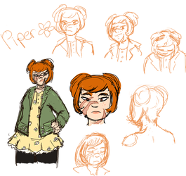 sketchy piper by Limesparrow