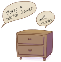 Talented drawers by Shwonky
