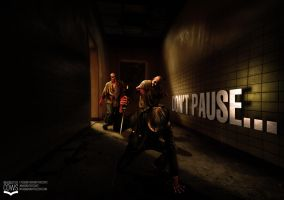 ZOMBIES! Don't Pause... by squiffythewombat