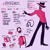 Meet The Artist 2017 by BITEGHOST