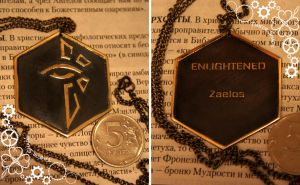 Ingress Enlighened pendant by TimforShade