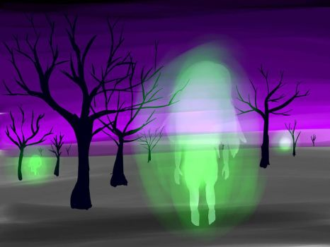 specter forest by Bailey-Draws