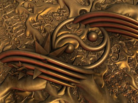 Contortions in Copper by tdcooke