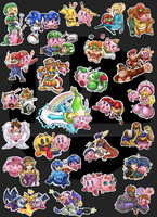 Collant kirby collection by BlackYumiCat