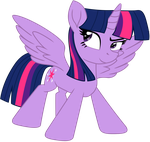 Twilight Sparkle (fanmade Vector) by EJLightning007arts