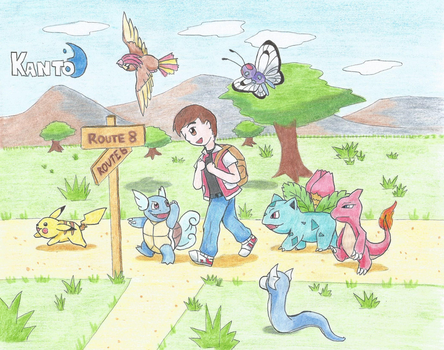 Pokemon Adventure KANTO by LaloRiolu