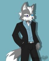 Mr. Wolf O'Donnell by BlackWingedHeart87