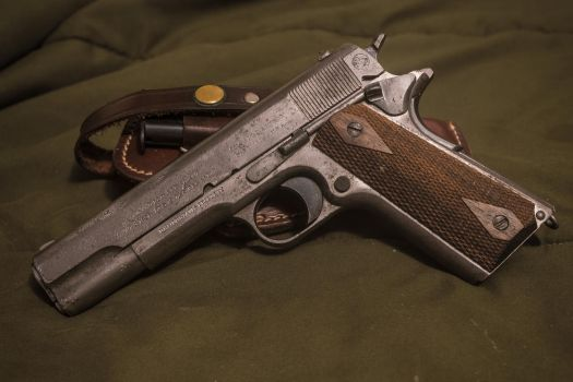 M1911, 1912 Manufacture, In The White by likeonions