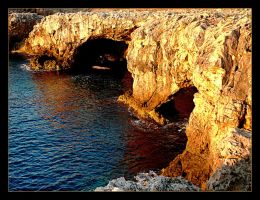 Cliffs In Sunrise - Menorca 1 by skarzynscy