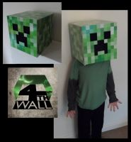 Creeper Head by 4thWallDesign