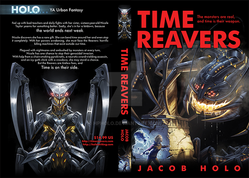 Time Reavers Book Cover 2 by hpholo
