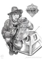 Fourth Doctor Who And K9 by JUMBOLA