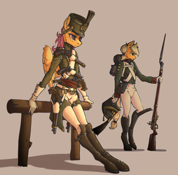 And bayonets by MadHotaru