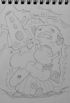 Some old fakemon by Voliol