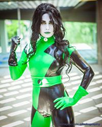 Kim Possible Shego Cosplay : Radioactive by Khainsaw