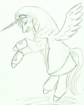 Pony Assassin by lacewing