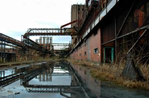 Industrial Reflection by baldrickthecunning