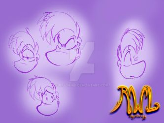 Rayman practice expressions by Ray-Wind