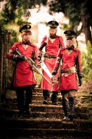 Steampunk - The Red Army by presencez